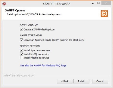 Instalasi Xamp di Localhost2